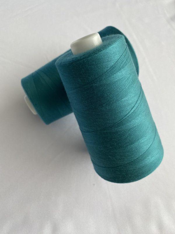 Siūlai mėlynai žali