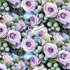 Alyvinės rožės skaitmeninė spauda