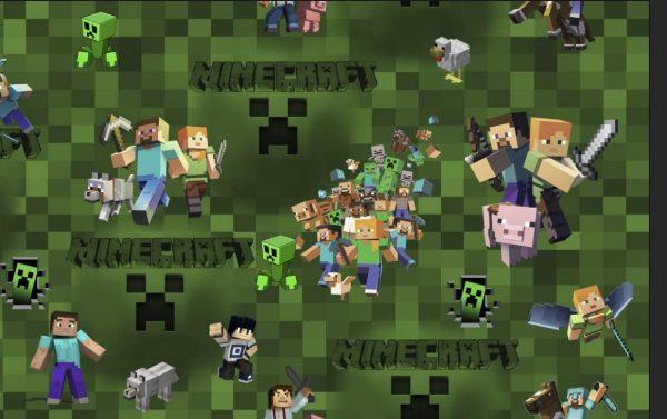 Minecraft skaitmeninė spauda