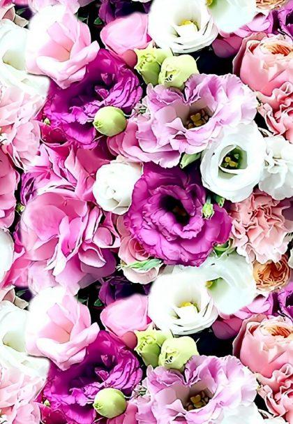 Gėlių jūra skaitmeninė spauda